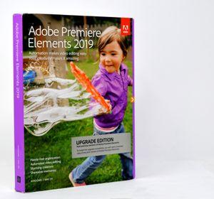 Adobe Premiere Elements 2019 | Upgrade - Englisch | PC/Mac | Disc