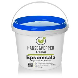 5kg Bittersalz Magnesiumsulfat-Heptahydrat MgSO4 x 7 H2O - Eco Pro Serie