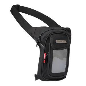 Mehrzweck Beintasche Hüfttasche Beinbeutel Taktische Schenkel Tasche für Damen Herren Outdoor