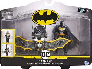 Spin Master 13547 BAT Batman - 10cm Figur mit Mega Gear - 2fach sortiert