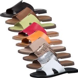 Tamaris Damen Clogs Pantolette Leder 1-27135-26, Größe:40 EU, Farbe:Silber