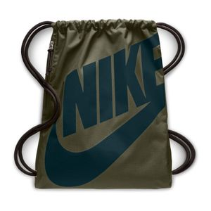 Nike Heritage Gymsack Olive Canvas/Midnight Spru -