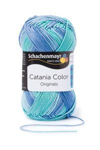 Schachenmayr Catania Color, 9801780-00226, Farbe:Aqua, Handstrickgarne