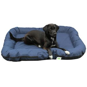 Tierbett Hundematratze dunkelblau 80 x 105 cm