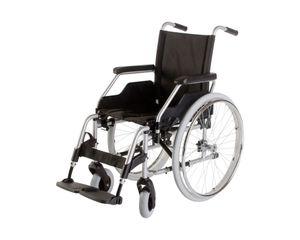 Meyra Standard Rollstuhl 'Budget 9.050 II', faltbar, bis 120 kg belastbar, Standardrollstuhl, Faltrollstuhl