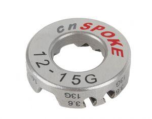 Speichenschlüssel 3,2 / 3,4 / 3,6 / 3,9 mm Stahl