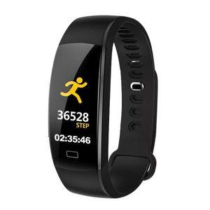 Smartwatch Bluetooth Armbanduhr Fitness Sport Tracker Schrittzähler Armband Pulsmesser Wasserdicht IOS Android