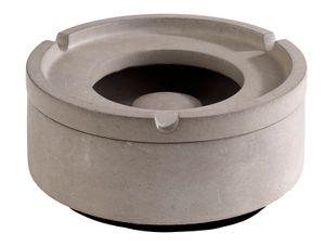 APS Windaschenbecher -ELEMENT-  /// Ø 10,5 cm, H: 5 cm  /// Beton  /// mit möbelschonender Unterseite /// 570