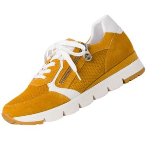 Marco Tozzi Damen Sneaker in Gelb, Größe 41