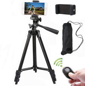 Tripod Bluetooth Selfie Stick Stange Ausziehbarer Stativstange Halter für Handy Bluetooth Smartphone Handy Stativ Selfie Stick