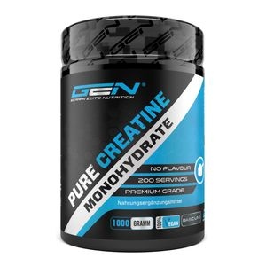GEN Creatin Monohydrat Pulver, 1000g