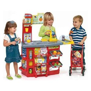 Playset Supermarket Moltó (20 pcs) (90 cm)