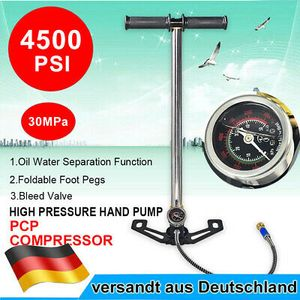 Luftpumpe Air Gun Pump PCP Airguns HOCHDRUCK 4500psi Handpumpe Faltbar Manometer