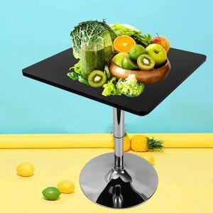 Höhenverstellbar Bistrotisch Stehtisch Bartisch Garten Tisch Quadratisch Beistelltisch Loungetisch für Kitchen Home Breakfast