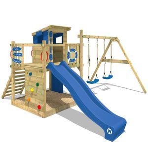 Spielturm WICKEY Smart Camp Garten Kinder Kletterturm Stelzenhaus