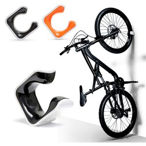 Clug MTB Fahrradclip Für die Wand - Weiß/Schwarz
