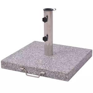 Sonnenschirmständer Schirmständer  30 kg quadratisch 48 cm