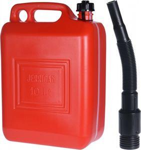 kanister mit Trichter 10 Liter rot