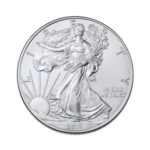 2019-1 Unze American Silver Eagle Vereinigte Staaten von Amweica Commemorative CoinsI