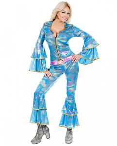 70er Jahre Disco Queen Overall Größe: S