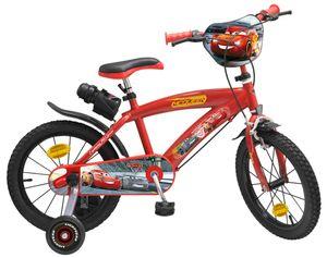 Disney Cars 3 Kinderfahrräder Jungen 16 Zoll 25,4 cm Jungen Felgenbremse Rot