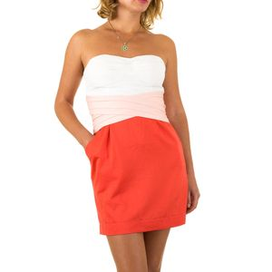 Ital-Design Damen Kleider Cocktail- & Partykleider Rot Gr.36