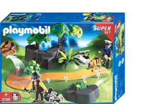 PLAYMOBIL 3136 SuperSet Polizei - Spurensicherung