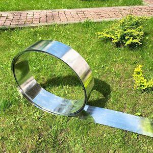 Rasenkantenband Metall Alu/Zink 20 cm x 10 Meter