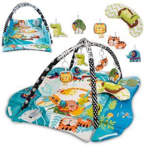 Lionelo Anika Baby Krabbeldecke Spielbogen Spieldecke Spielmatte Erlebnisdecke