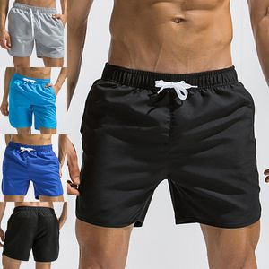 Herren Casual Boxershorts Sporttasche Strand Stretchhose,Farbe: Grau,Größe:XXL