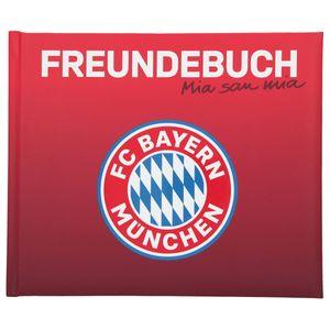 Depesche 11514 FC Bayern München Freundebuch FCB Logo Mia san mia