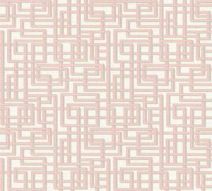 A.S. Création Vliestapete Palila Tapete grau rosa weiß 10,05 m x 0,53 m 363122 36312-2
