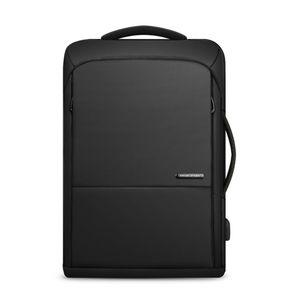 MARK RYDEN Grosse Kapazitaet Anti Dieb Multifunktions Business Laptop Tasche Wasserdichte USB Ladung Outdoor Maenner Rucksack One Shoulder Reise Computer Tasche,Black,