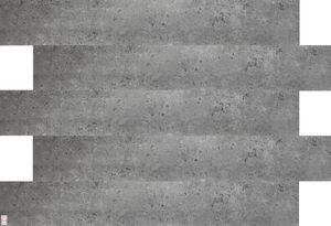 Deckenplatten Deckenpaneele Betonplatten Imitat  Deckenverkleidung Betonoptik aus Polystyrol (0,167qm)