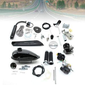 80cc  2-Takt Motorisierte Gas Motor   Motorsatz Hilfsmotor Für Mountainbike Rennräder   Einzylinder Benzinmotor Engine Cruiser Chopper