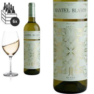 6er Karton 2019 Rueda Sauvignon Mantel Blanco von Bodegas Alvarez y Diez - Weißwein