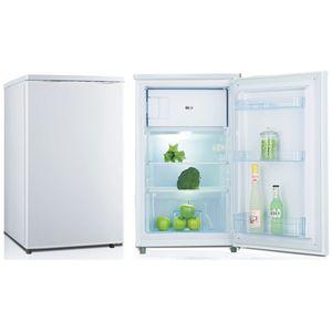 PKM Kühlschrank mit Gefrierfach 4**** Standkühlschrank KS 95.4 T weiß 88 Liter