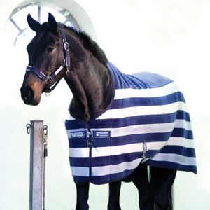 Horseware Rambo Deluxe Fleece - Witney Navy, Größe:145