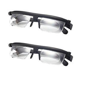 2x Presbyopic Brille Einstellbare Lesung Beobachten Für Verschiedene Gesichtsformen
