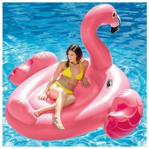 Kopmann Luftmatratze Flamingo  218 x 211 x 136 cm, 2 Personen