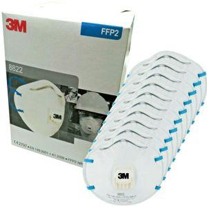 3M™ Maske 8822, FFP2, mit Ventil, 10 pro Packung