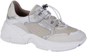 MJUS Damen Leder Sneakers panna, Lederfutter, softes Leder Fußbett