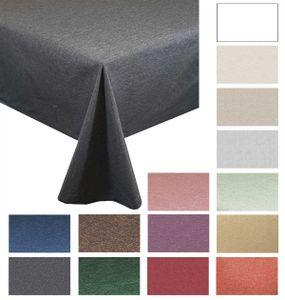 """Tischdecken-Serie """"Panama Uni"""" eckig 130 x 220 Grau"""