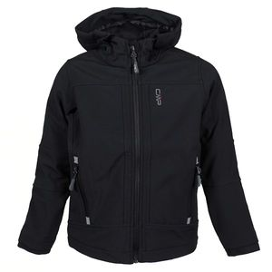 Cmp Boy Jacket Fix Hood Nero Nero 164