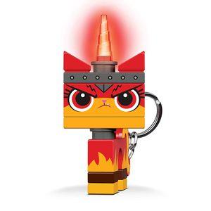 LEGO Movie 2: Wütendes Kätzchen Schlüsselanhänger mit hell 7 cm rot