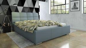 Polsterbett Bett Doppelbett CATELLO 180x200cm inkl.Bettkasten