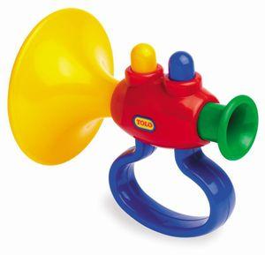 TOLO Classic Trumpet Instrument Spielzeug Kleinkinder Musikinstrument Baby