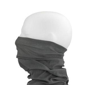 Oblique Unique Multifunktionstuch Schlauchtuch Halstuch Motorrad - Pure Grey