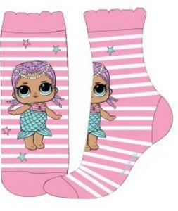 LOL Surprise! Mädchen Socken, gestreift rosa 23/26