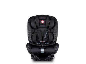 Autokindersitz LIONELO SANDER schwarz ISOFIX TopTether 0-36 kg Autositz Gruppe 0+, I, II und III Reboarder und Vorwärts gerichtet nutzbar